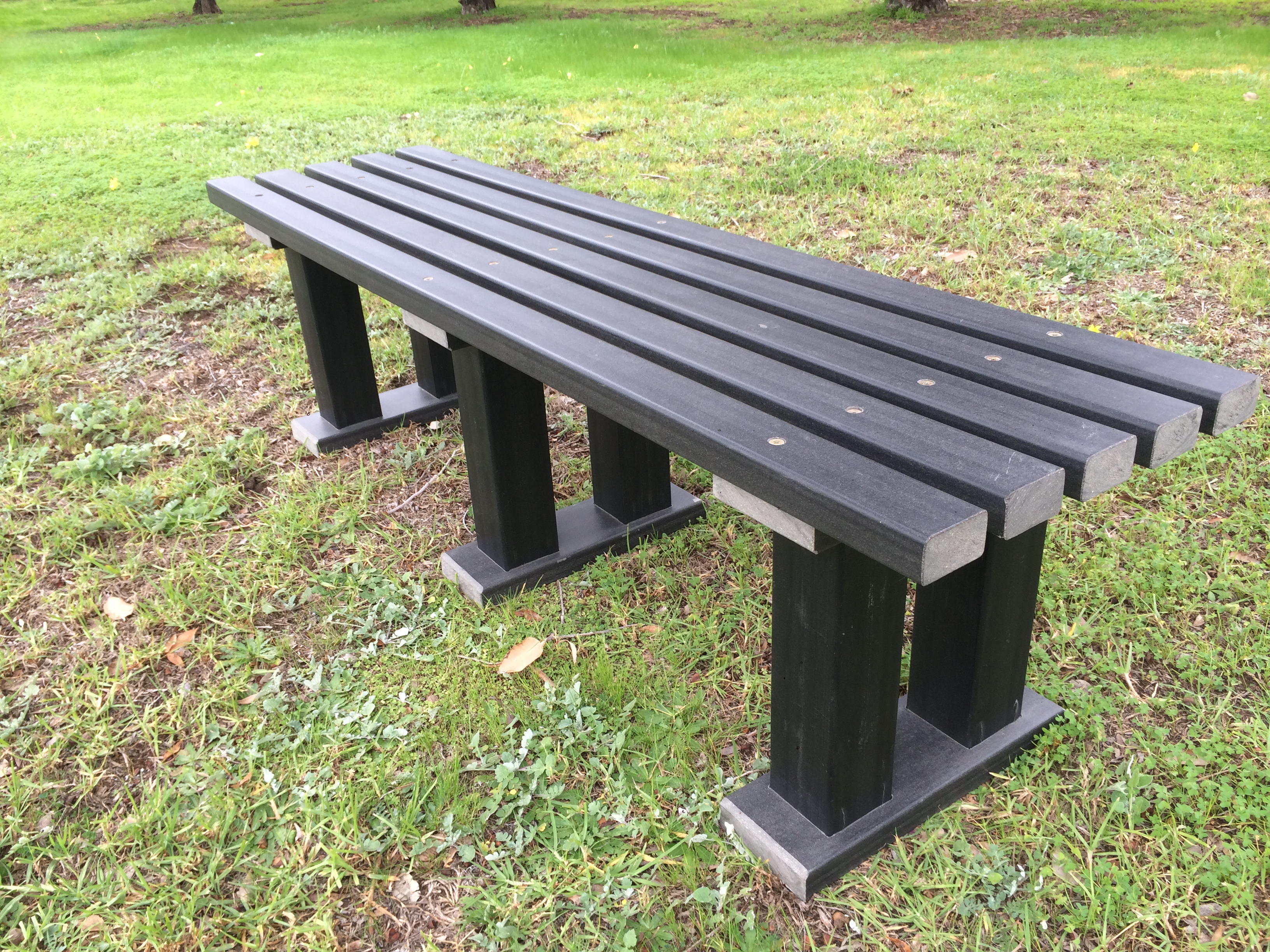 benches bench seat signs quality recycled repeat products plastic