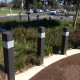 Round About Bollards - Wood Plastic Bollards