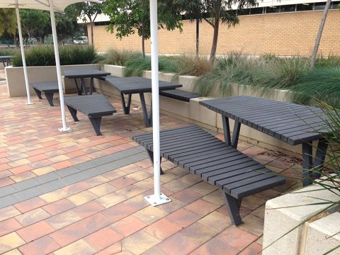 WPC Custom Table and Seat Slats, SA