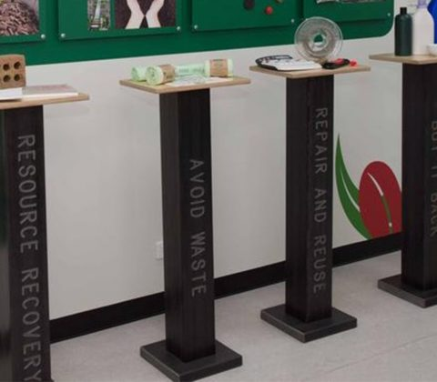 Educational Display Plinths