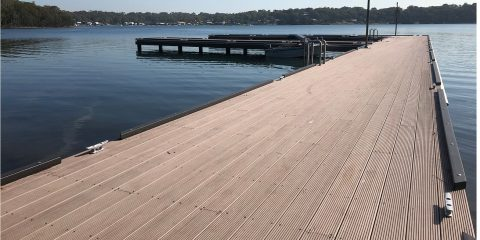 WPC Decking Brown