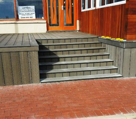 WPC Decking and Stairs