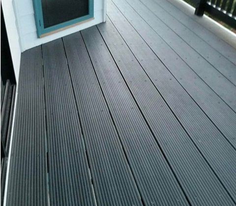 WPC Residential Decking Graphite