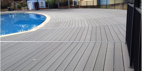 WPC Poolside Decking