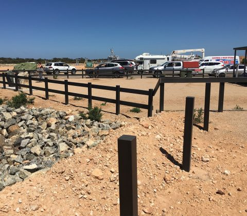 WPC Square Bollards and Fencing