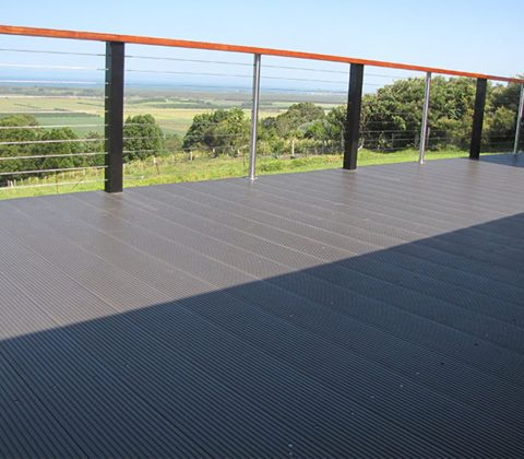 WPC Decking Residential Balcony